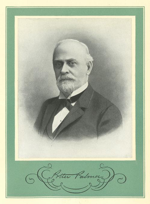 Mr. Potter Palmer. Chicago Tribune historical photo.